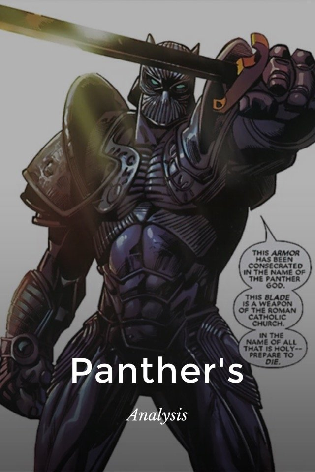 the panther analysis