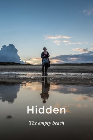 Hidden The empty beach