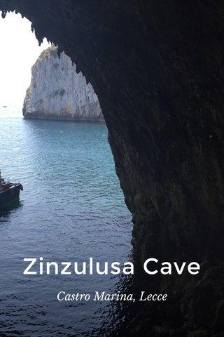 Zinzulusa Cave Castro Marina, Lecce