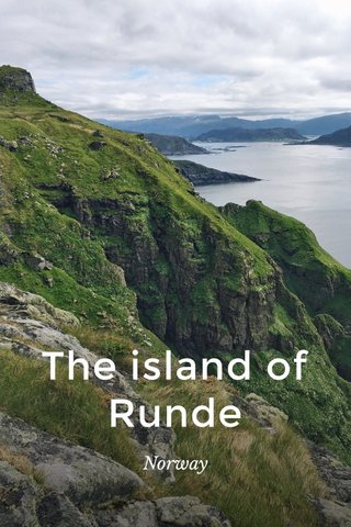The island of Runde Norway