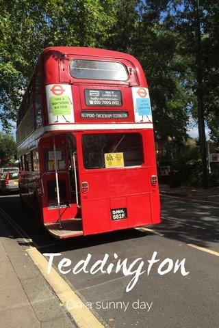 Teddington On a sunny day