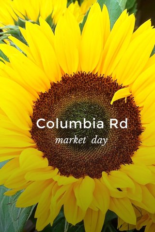 Columbia Rd market day