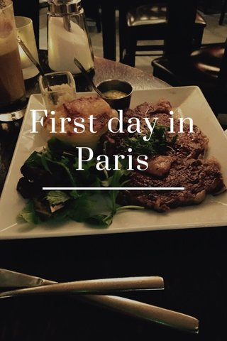 First day in Paris