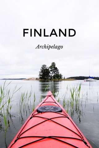 FINLAND Archipelago