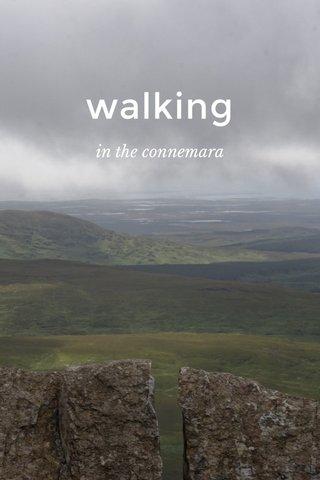 walking in the connemara