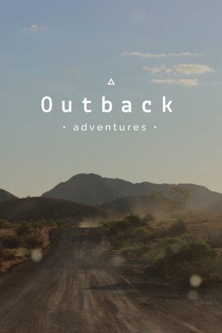 Outback • adventures •