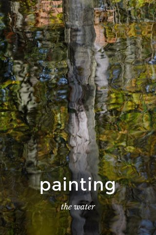 painting the water