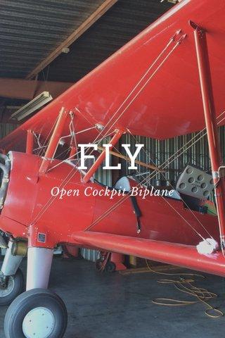FLY Open Cockpit Biplane