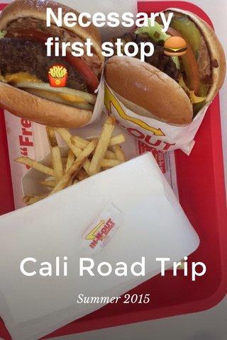 Cali Road Trip Summer 2015