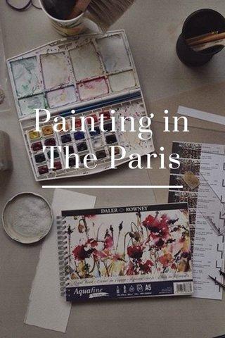 Painting in The Paris