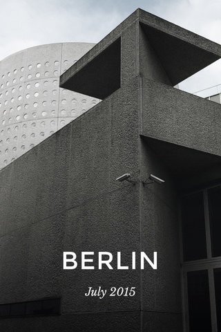 BERLIN July 2015