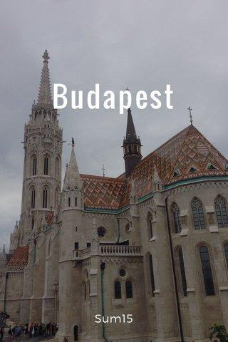 Budapest Sum15