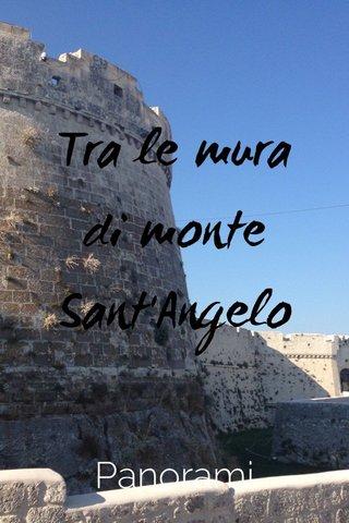 Tra le mura di monte Sant'Angelo Panorami