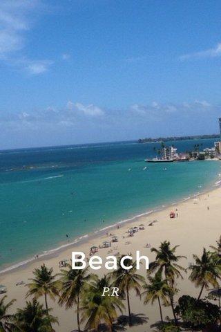 Beach P.R