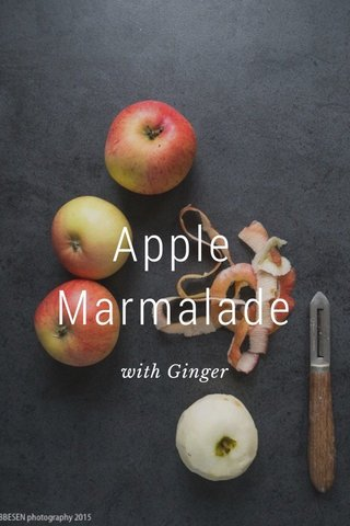 Apple Marmalade with Ginger