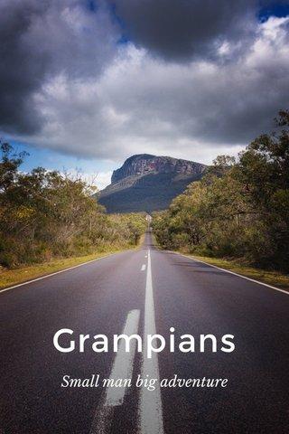 Grampians Small man big adventure