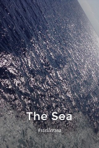 The Sea #stellersea