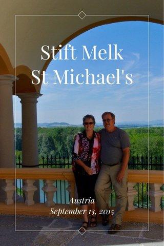 Stift Melk St Michael's Austria September 13, 2015
