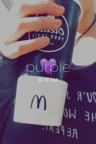 purple 12:31 AM