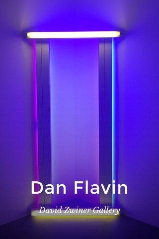 Dan Flavin David Zwiner Gallery