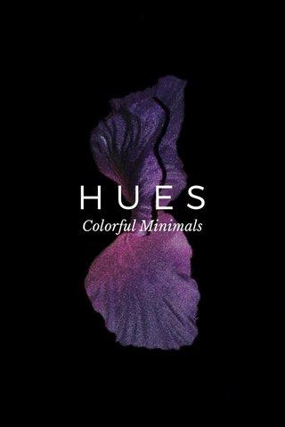 HUES Colorful Minimals