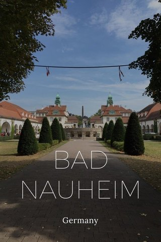 BAD NAUHEIM Germany