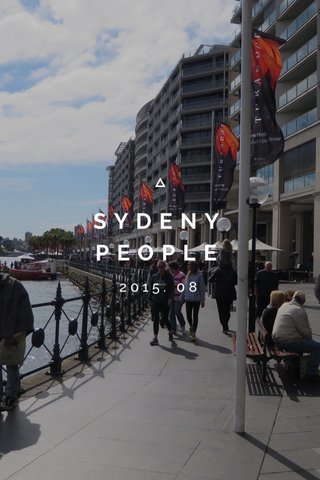 SYDENY PEOPLE 2015. 08
