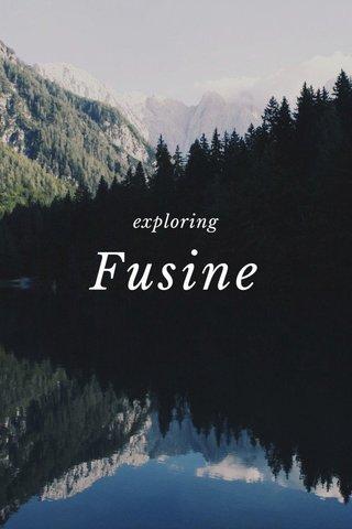 Fusine exploring