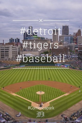 #detroit #tigers #baseball #Comericapark