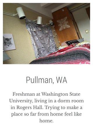 Pullman, WA