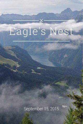 Eagle's Nest September 15, 2015