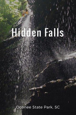Hidden Falls Oconee State Park, SC