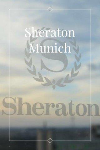 Sheraton Munich