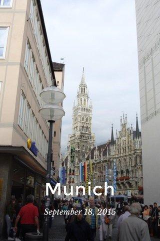 Munich September 18, 2015