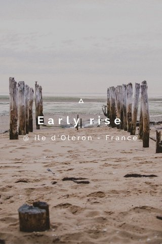 Early rise @ ile d'Oleron - France