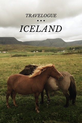 ICELAND TRAVELOGUE • • •