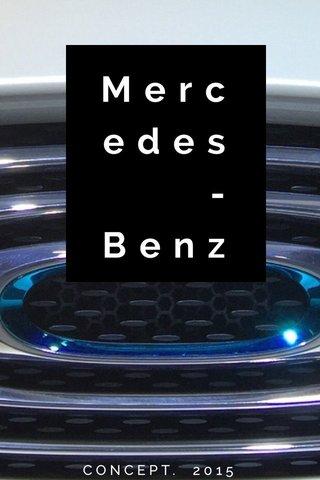 Mercedes-Benz CONCEPT. 2015