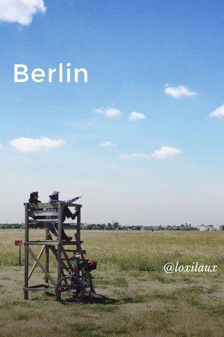 Berlin @loxilaux