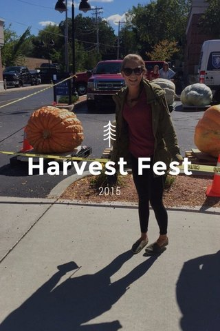 Harvest Fest 2015