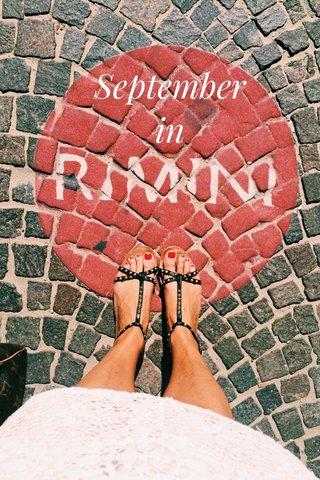 September in