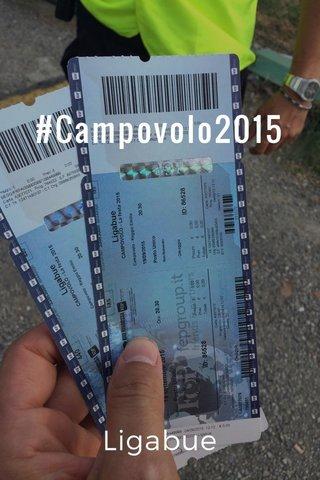 #Campovolo2015 Ligabue