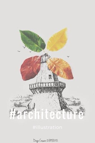 #architecture #illustration