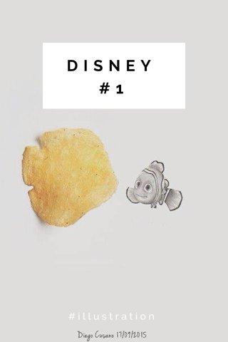 DISNEY #1 #illustration