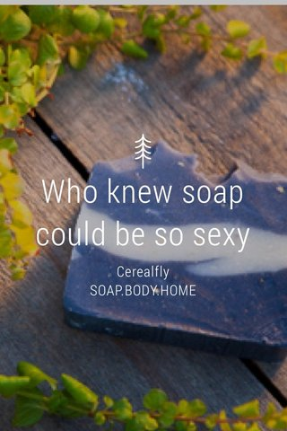Who knew soap could be so sexy Cerealfly SOAP.BODY.HOME
