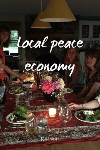 Local peace economy Retreat