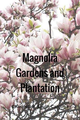 Magnolia Gardens and Plantation Charleston, South Carolina