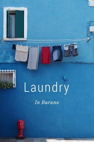 Laundry In Burano