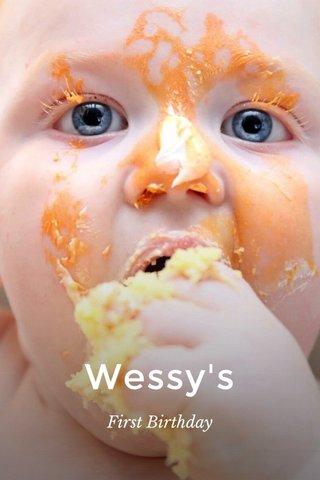 Wessy's First Birthday
