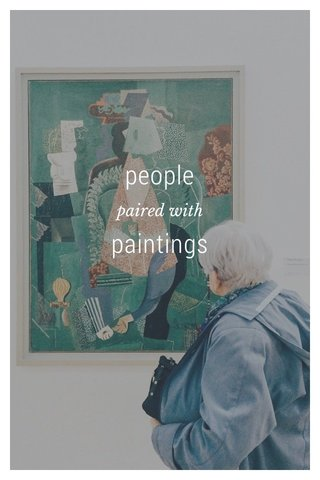 people paintings paired with