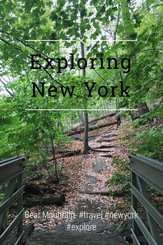 Exploring New York Bear Mountain #travel #newyork #explore